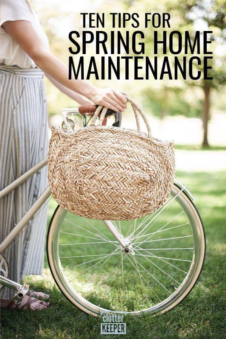 Ten Tips for Spring Home Maintenance