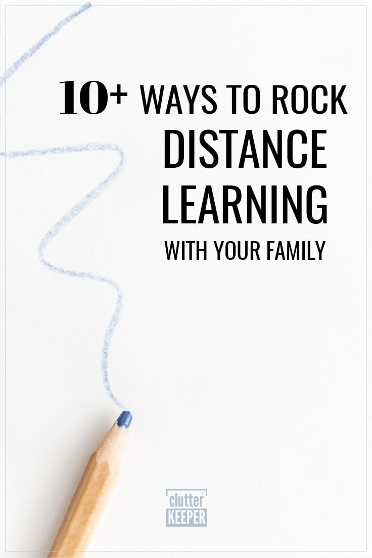 10+ Ways to Rock Distance Learning with Your Family