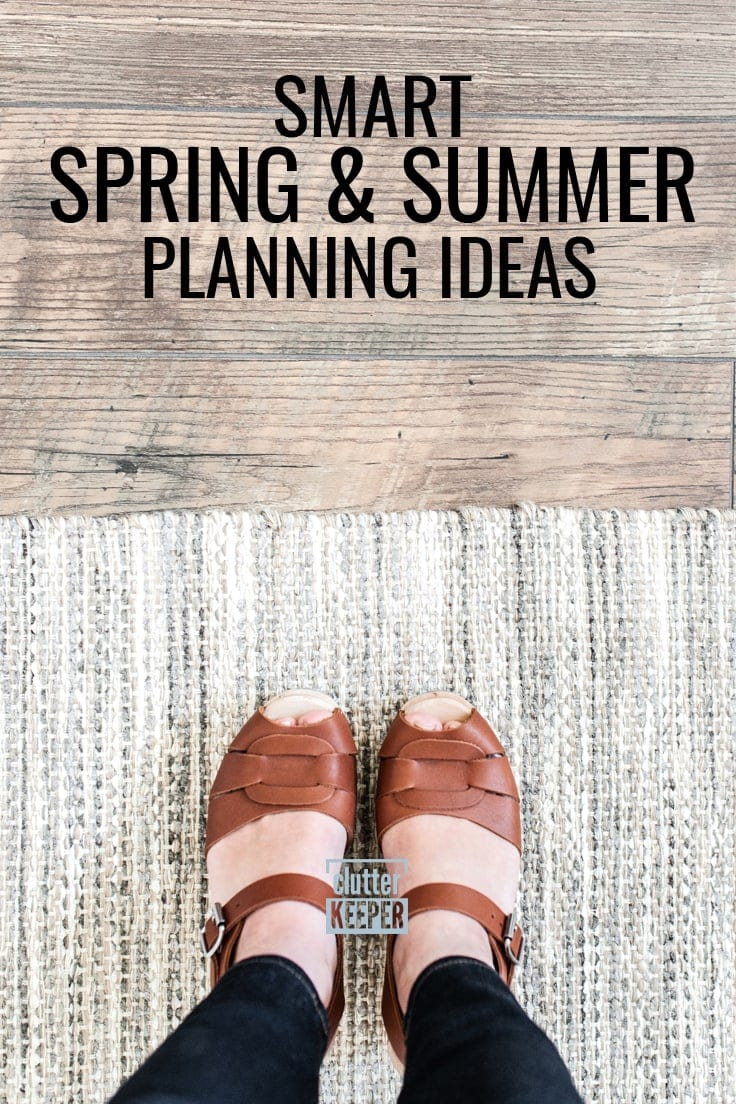 Smart Spring and Summer Planning Ideas