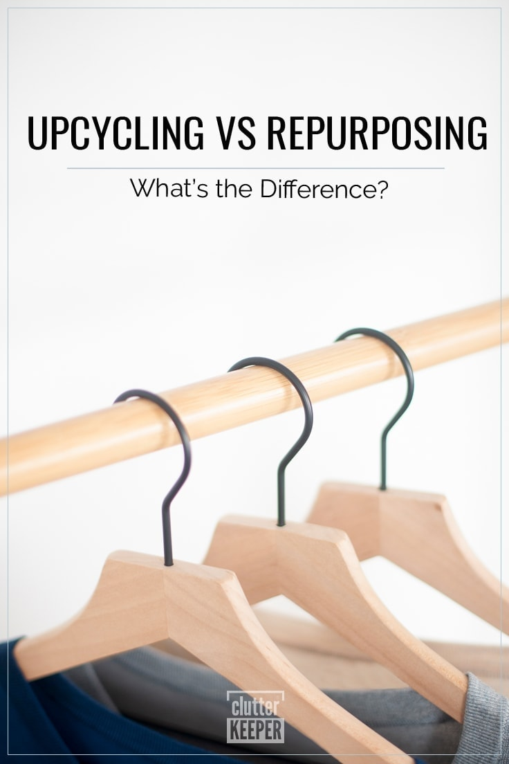 Upcycling vs Repurposing - What's the difference?