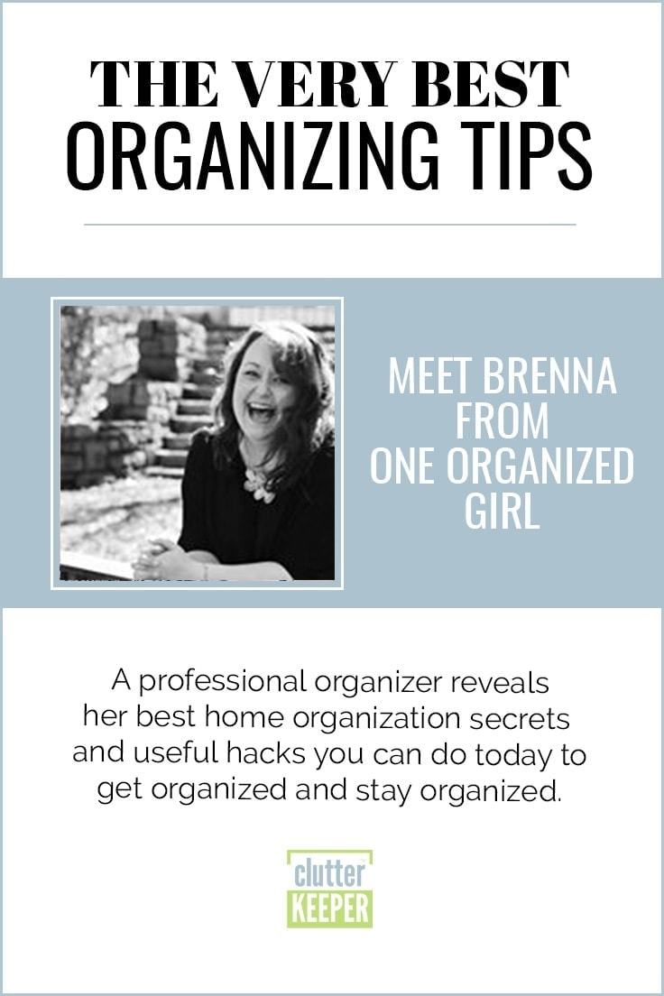 Brenna From One Organized Girl: Making Sense Of Chaos