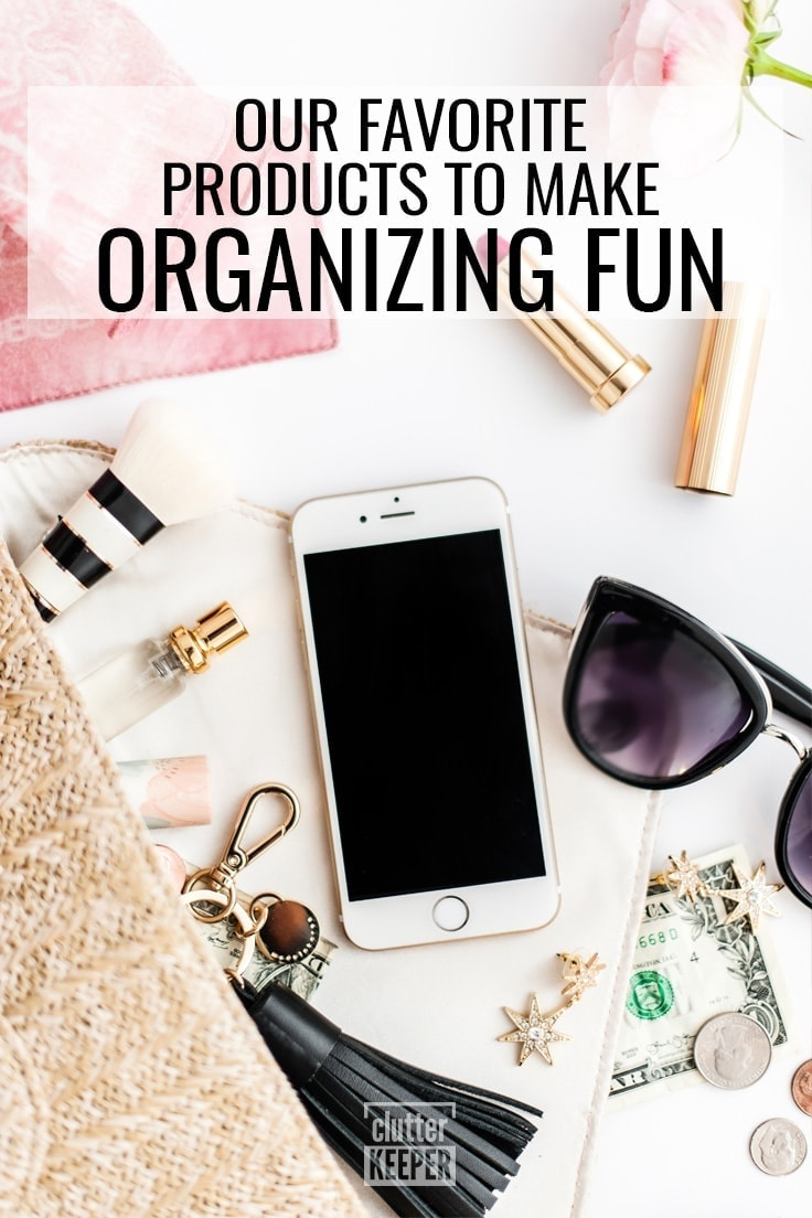 Our Favorite Products to Make Organizing Fun