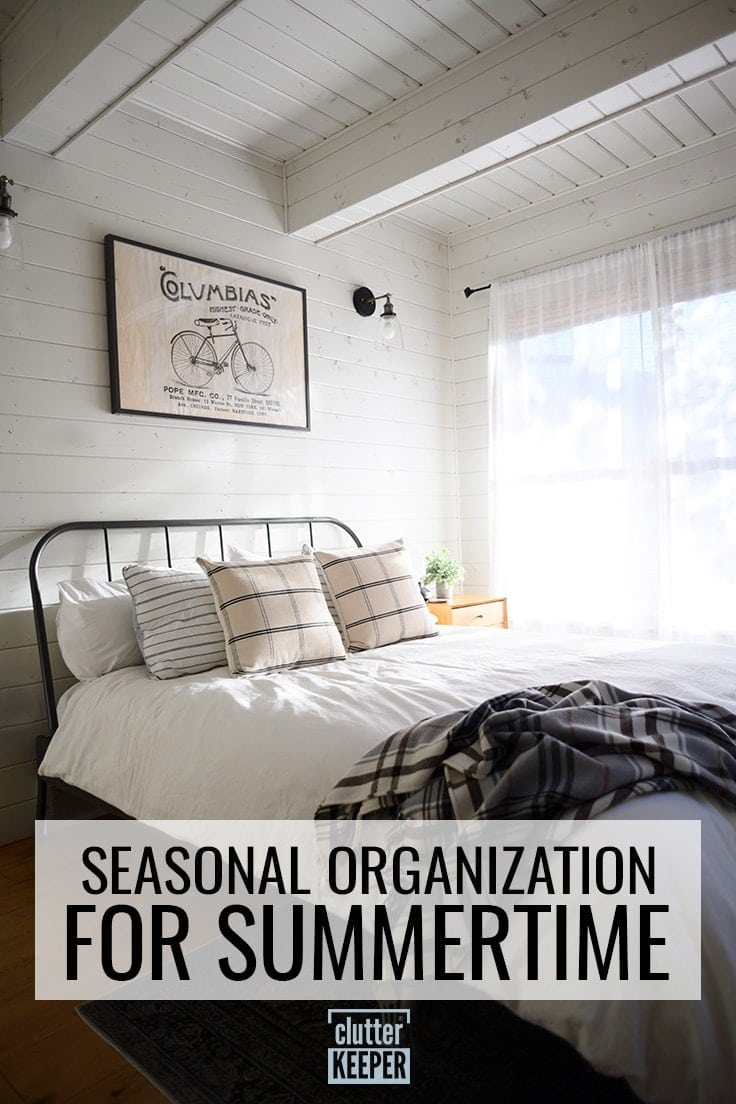 Seasonal Organization for Summertime