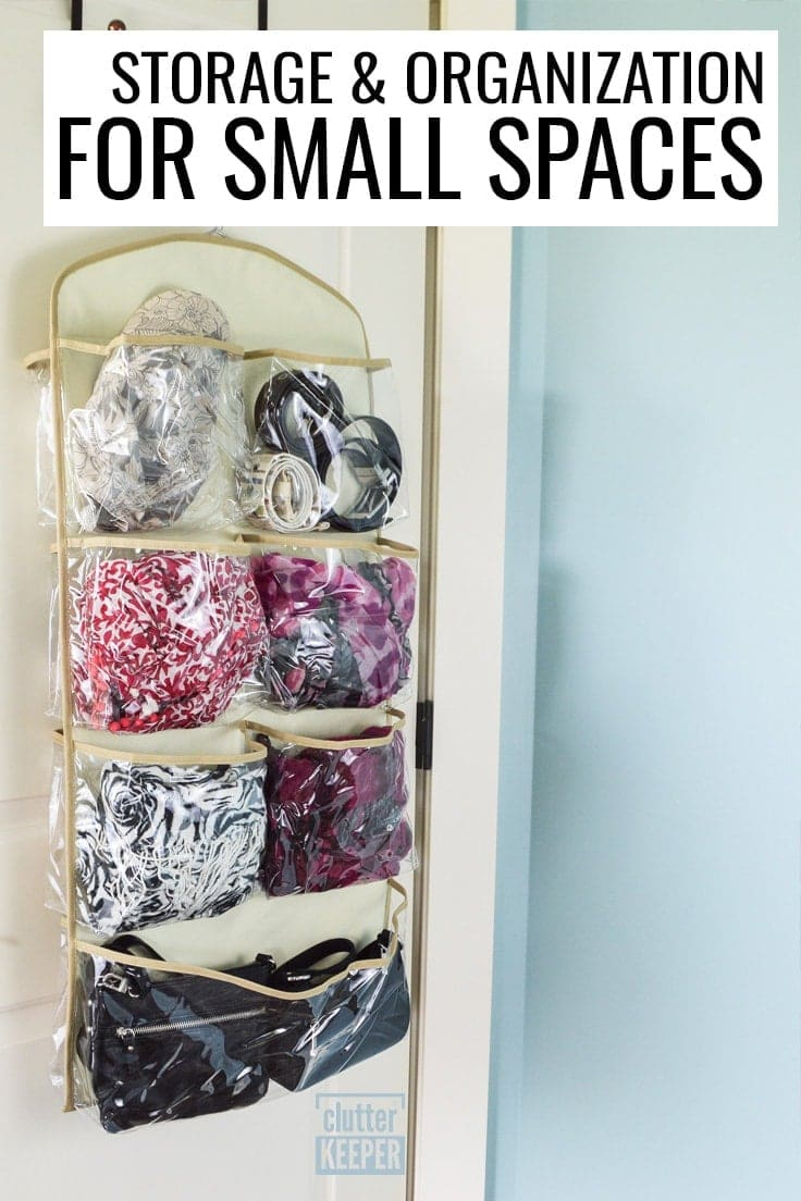 Storage and Organizing for Small Spaces