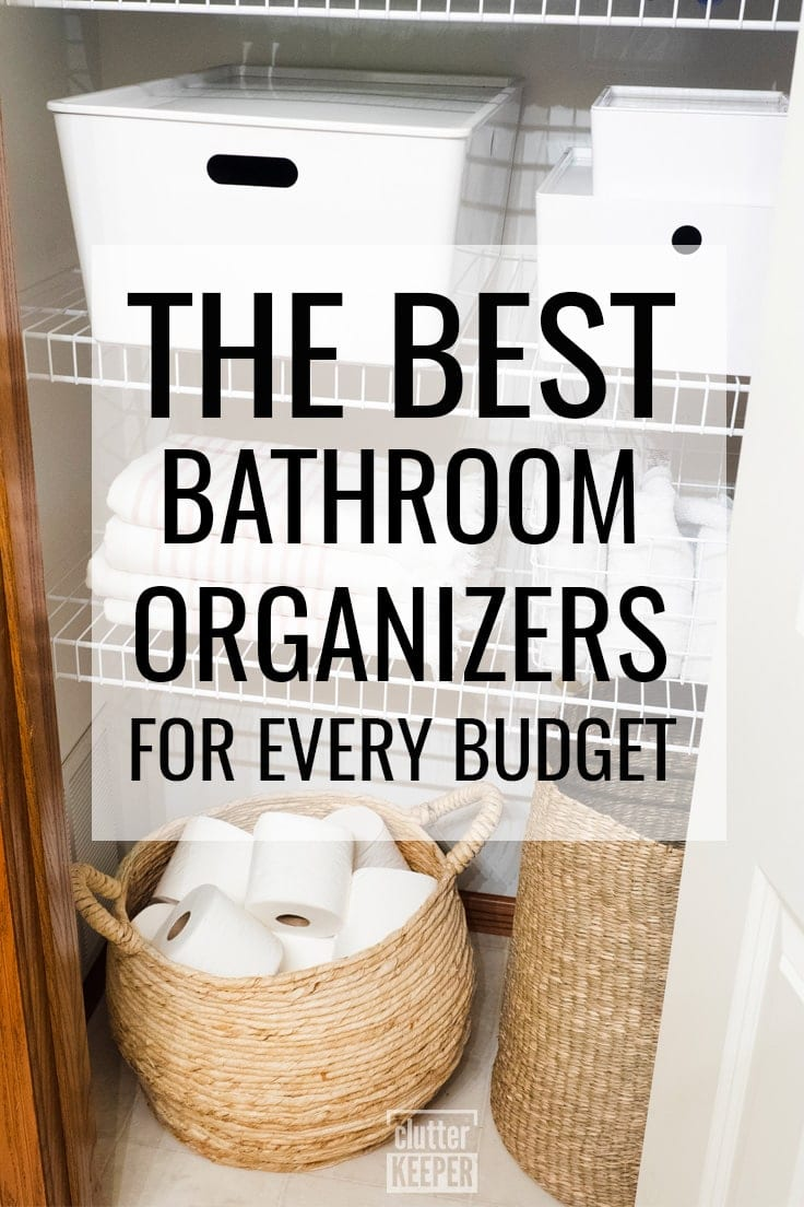 Best Bathroom Organizers