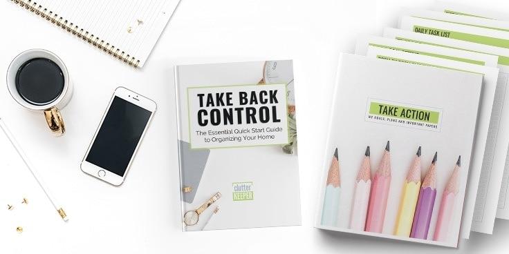 Take Back Control and Take Action Printables Binder Bundle