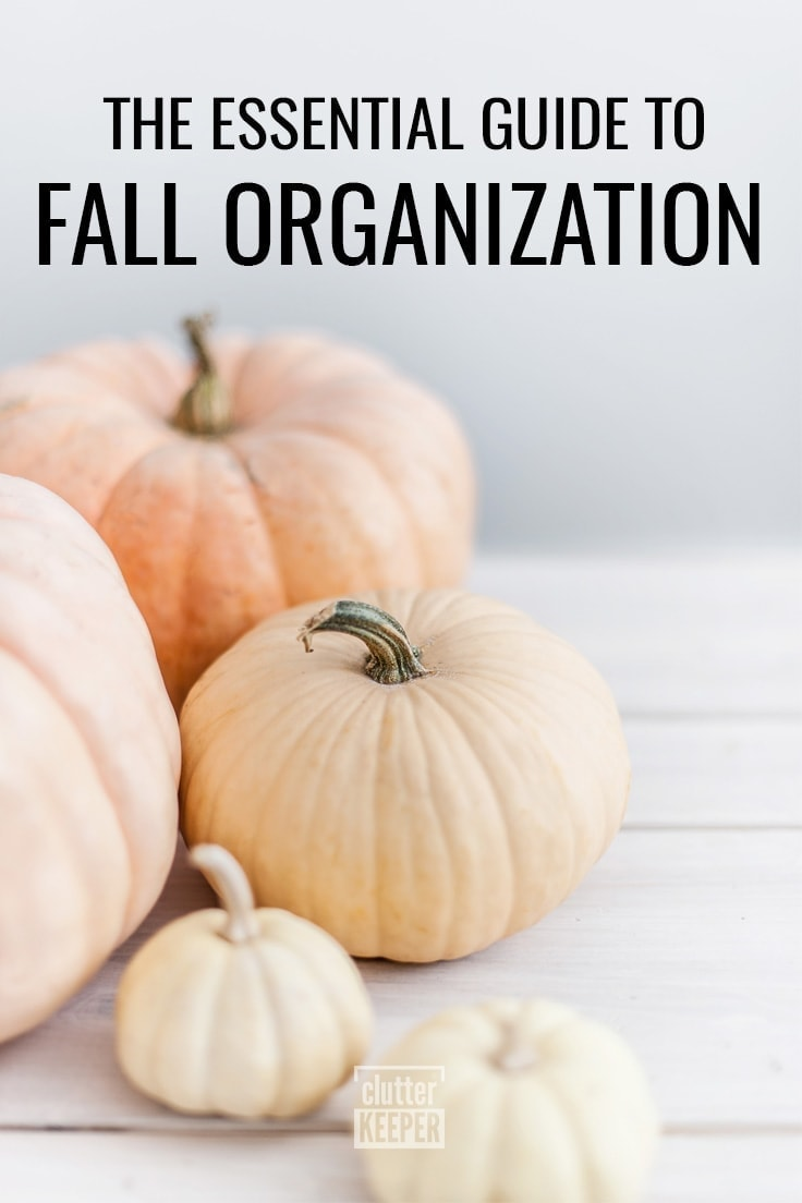 The Essential Guide to Fall Organization