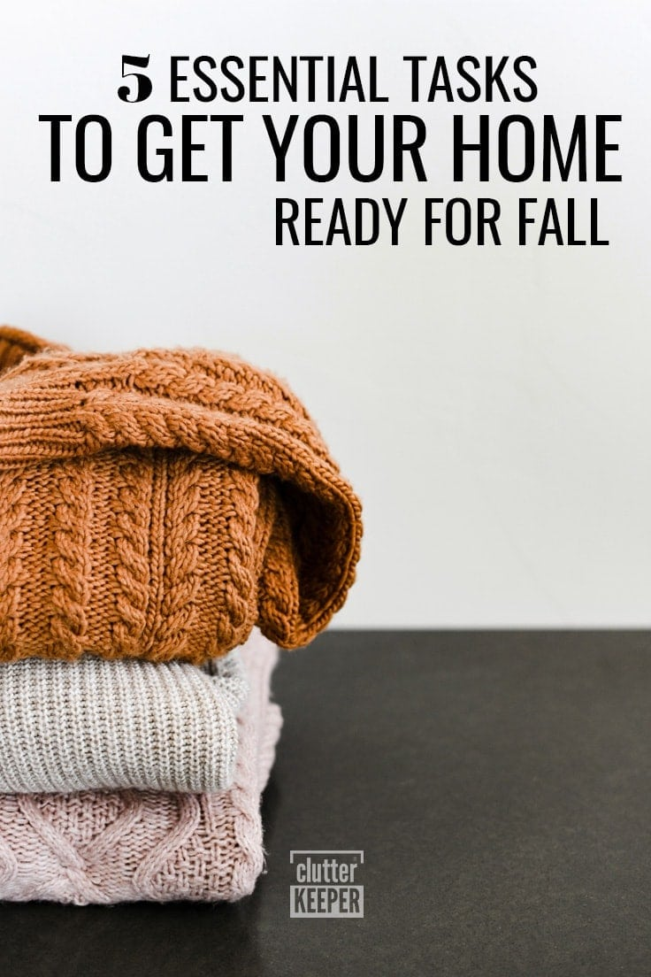 5 Essential Tasks to Get Your Home Ready for Fall