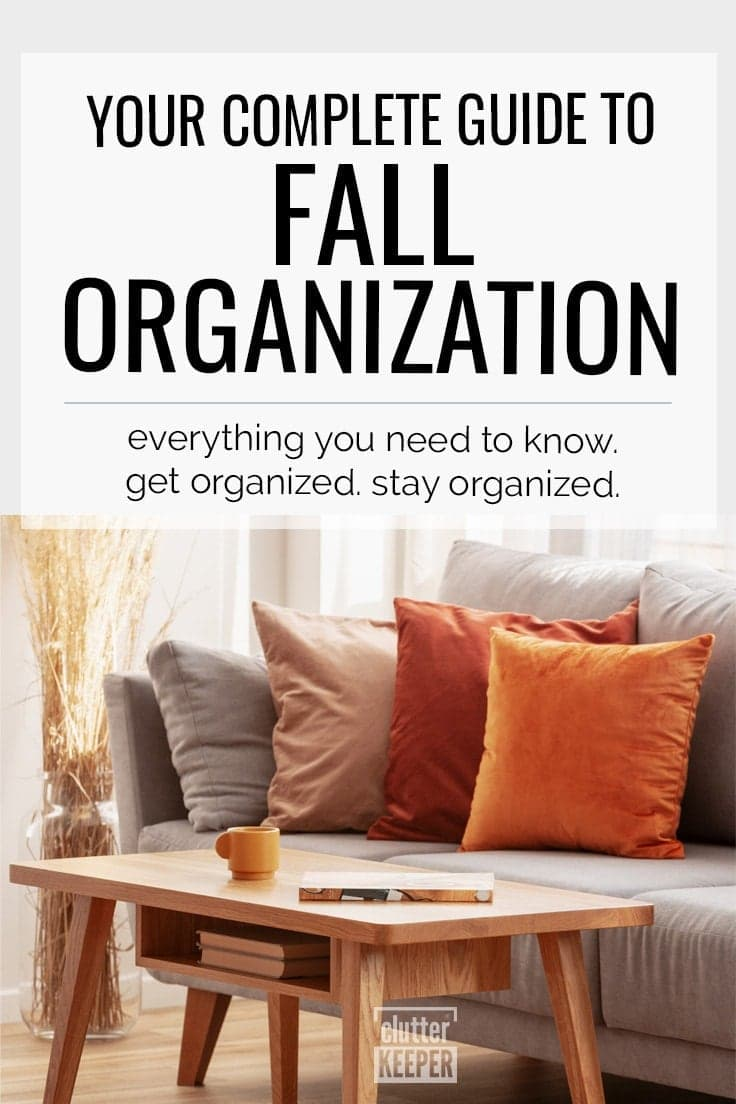 Fall Organization: Your Complete Guide