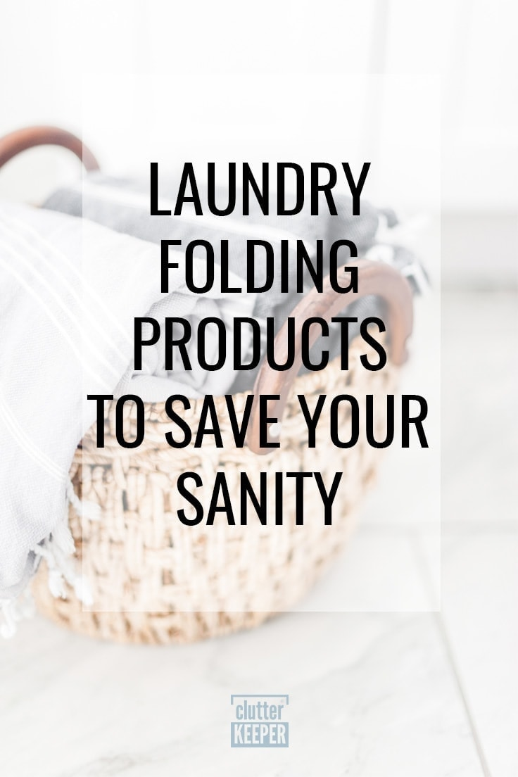 Laundry Folding Products to Save Your Sanity