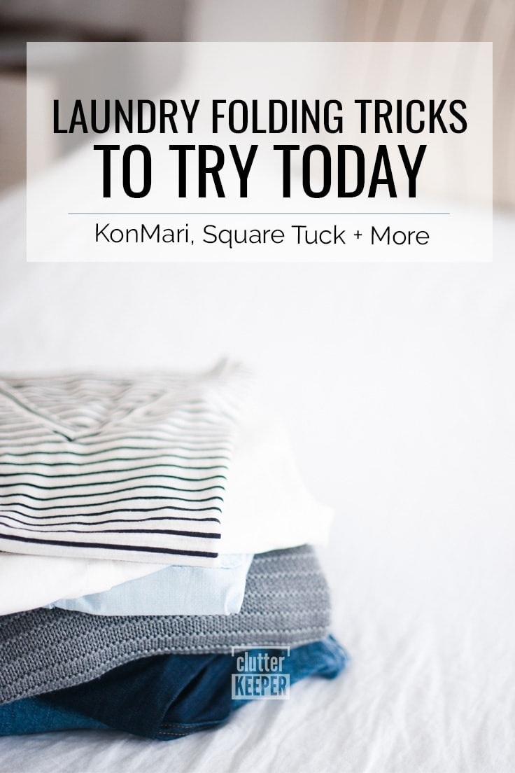 Laundry Folding Tricks to Try Today