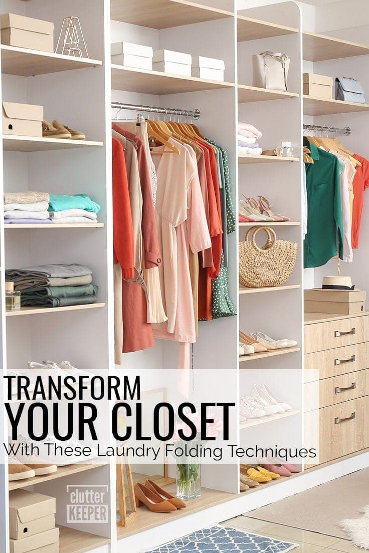 Transform Your Closet with These Laundry Folding Techniques