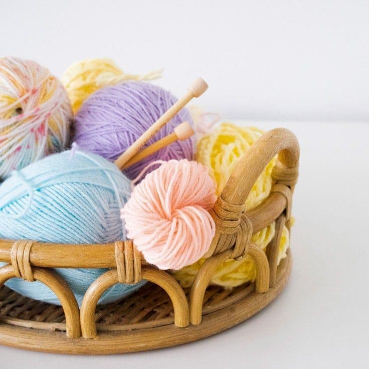 Yarn Organization: Guide To Organizing Knitting & Crochet Supplies
