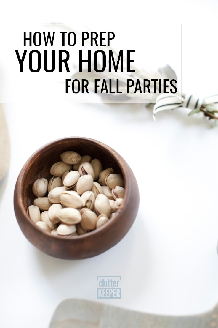 How to Prep Your Home for Fall Parties