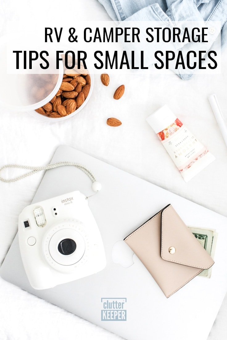 RV and camper storage tips for small spaces