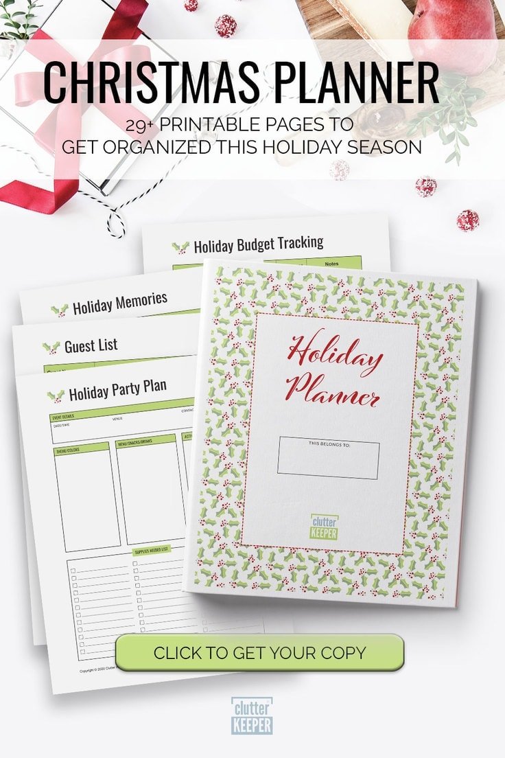 Christmas Planner, 29+ Printable Pages to Get Organized This Holiday Season - Click to Get Your Copy