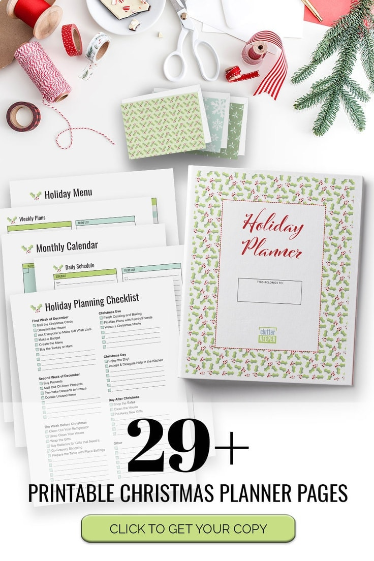 29+ Printable Christmas Planner Pages - Click to Get Your Copy