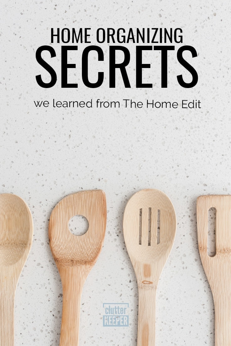 Home organizing secrets we learned from The Home Edit
