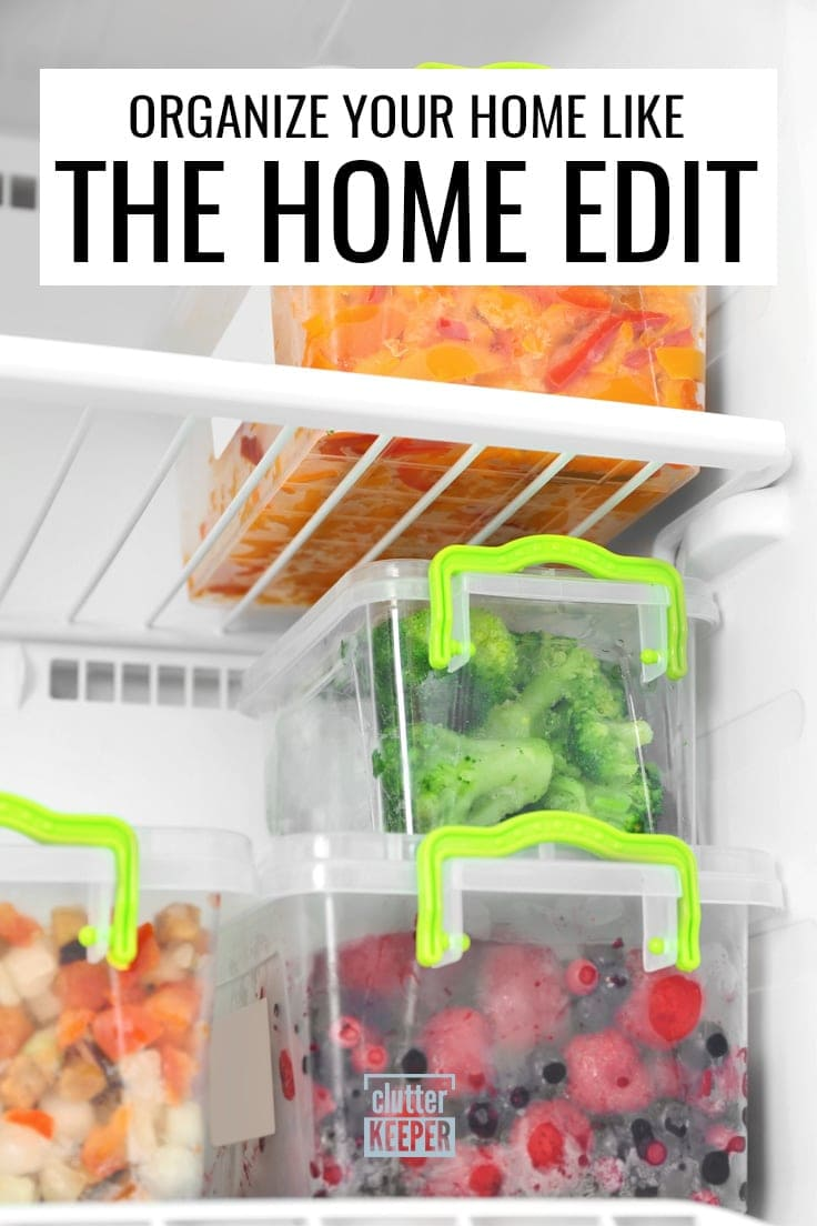 Organize Your Home Like The Home Edit