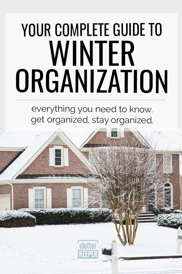 Winter Organization: Your Complete Guide