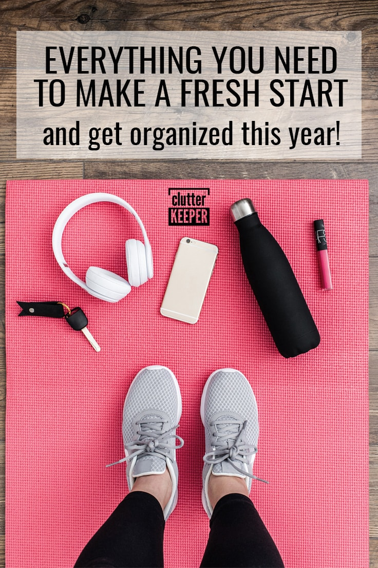 Everything you need to make a fresh start and get organized this year