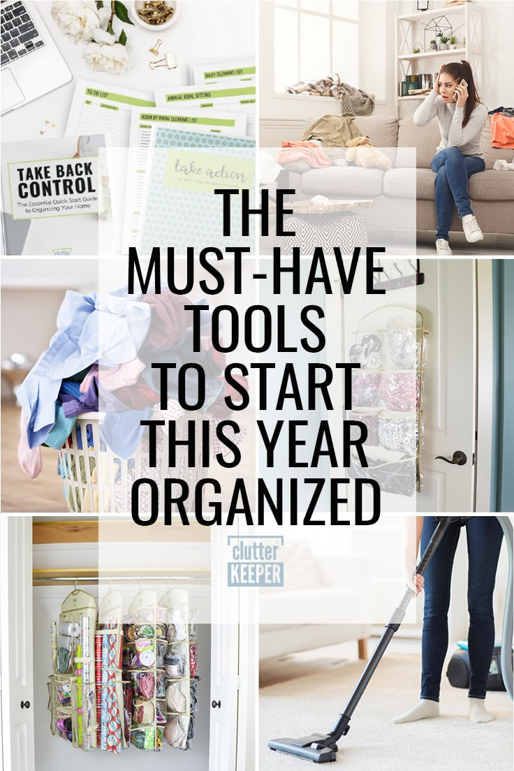 The must-have tools to start this year organized