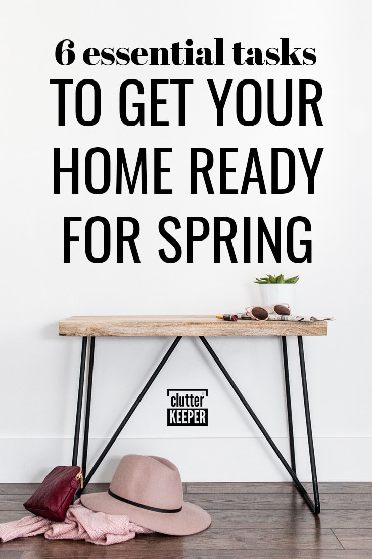 6 essential tasks to get your home ready for spring